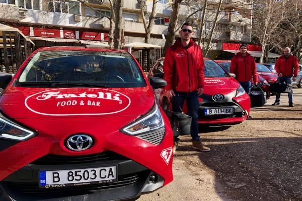 доставки на вкусни пици, ресторанти Фратели във Варна