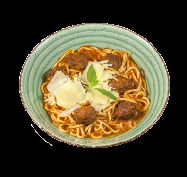 Polpetti spaghetti