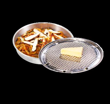 Прясна паста с крехко пилешко филе