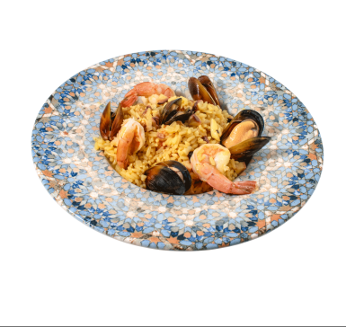 Mussels with sea food